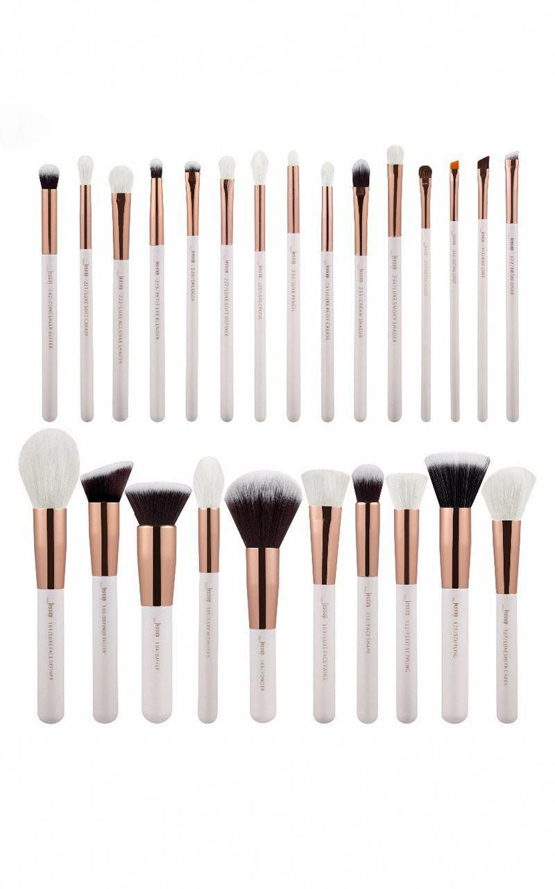 Eye Shadow Applicator Beautiful Gujhui 1 Piece Pro Soft White Hair Makeup Brush Foundation Powder Blush Contour Concealer Makeup Brush Hottest Beauty & Health