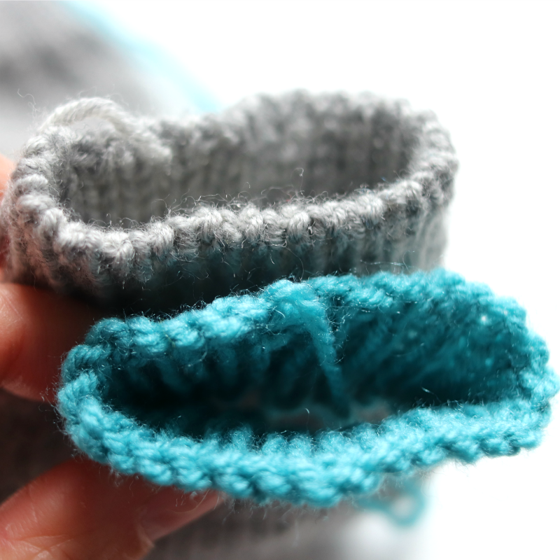 How To Knit Toe-up Socks With An After Thought Heel