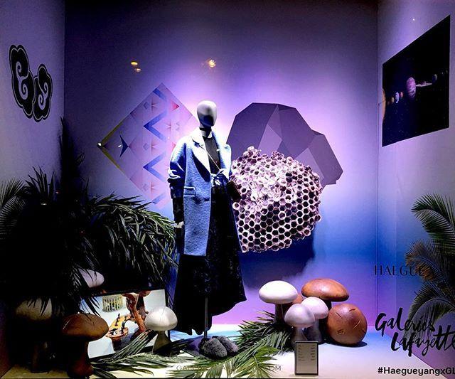 WEBSTA @ lilar_1 - Fun window display at Galleries Lafayette…