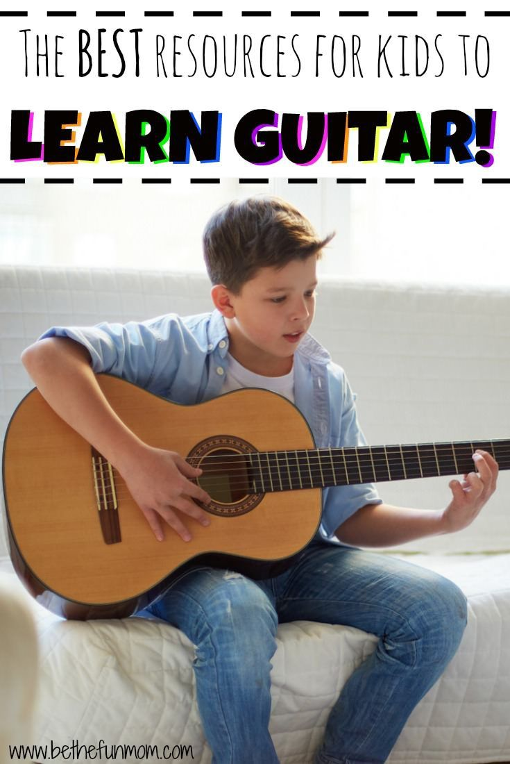 the best resources to learn guitar for kids! | kids | pinterest