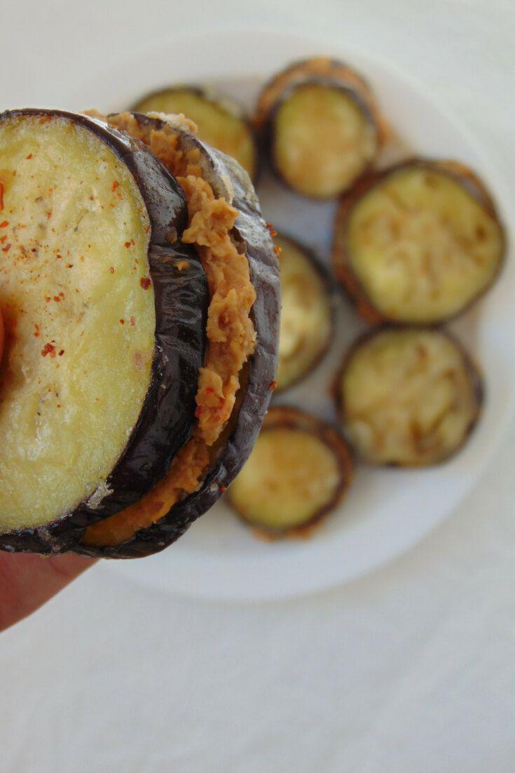 Sandwich De Berenjena Y Hummus De Lentejas Tasty Details Recipe Food Cooking And Baking Food And Drink