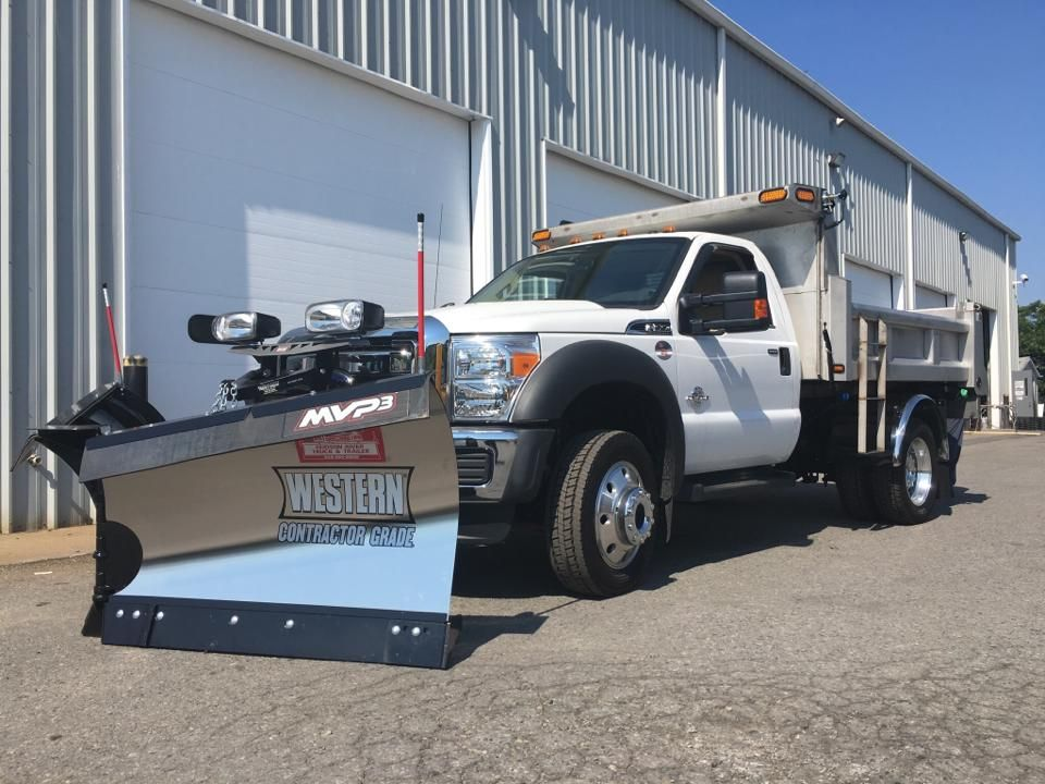 This F550 For The Town Of Fishkill Parks Department Was Outfitted