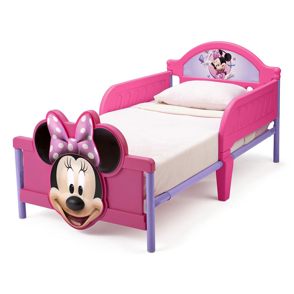 Disney Minnie Mouse 3d Toddler Bed Toddler Bed Baby Bed