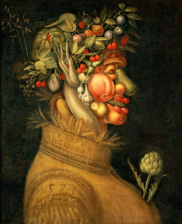 Giuseppe Arcimboldo >> Summer 2 | (Oil, artwork, reproduction ...