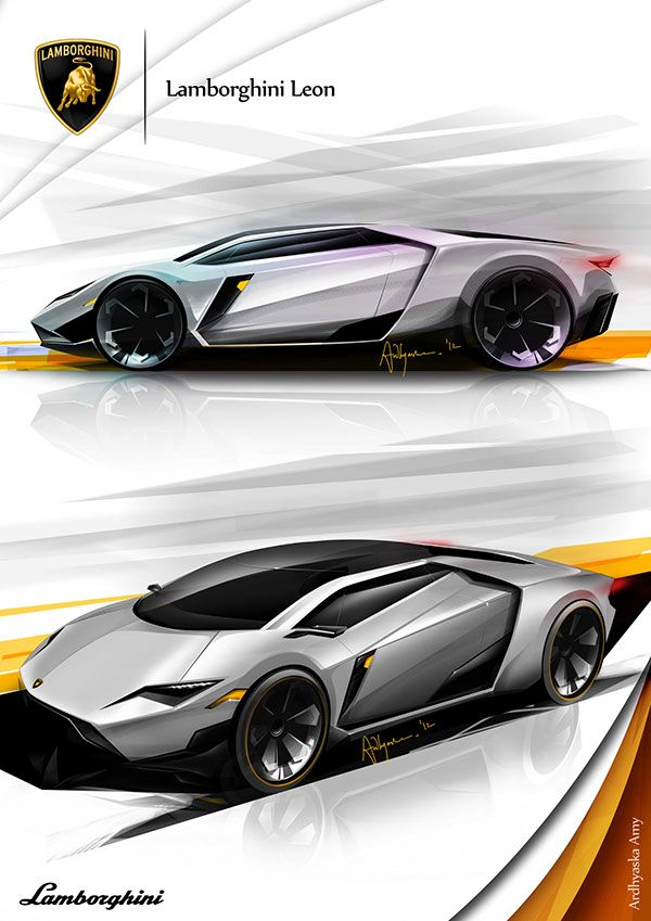 Lamborghini Leon Concept Sketch By Ardhyaska Amy Transportation