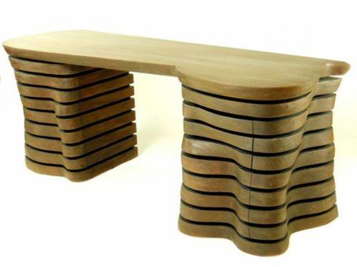 42 ausgefallene Schreibtische für Ihr Büro - ausgefallene - buro mobel praktisch organisieren platz sparen
