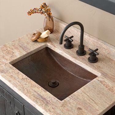 undermount copper sink bathroom renovations pinterest lavatory rh pinterest co uk copper sinks bathroom rectangular copper sinks bathroom kansas city