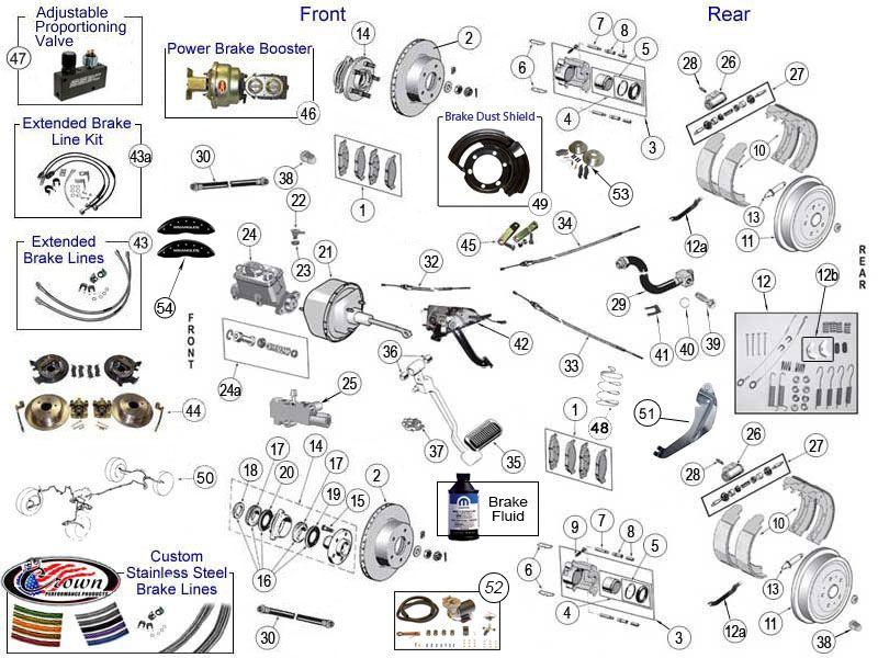 Wrangler Yj Brake Parts