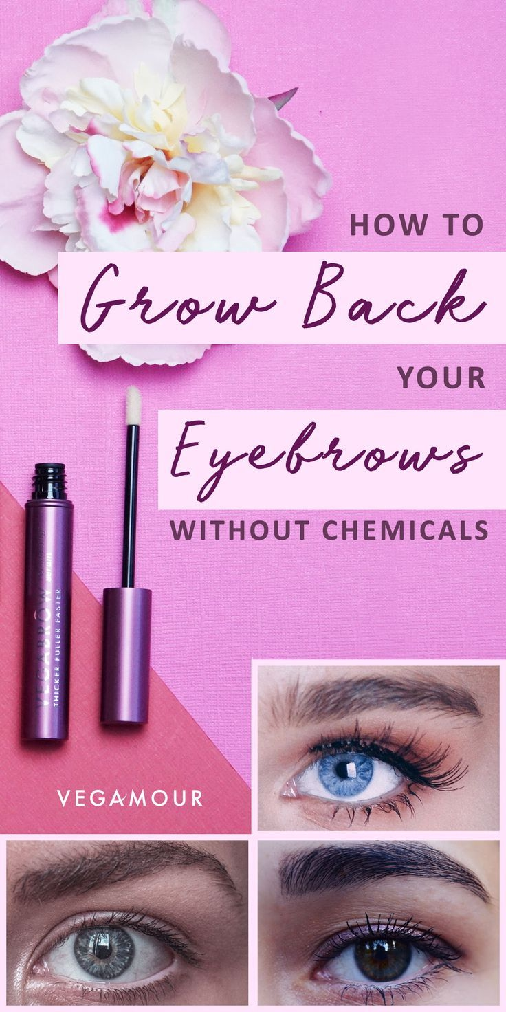 Yes, Your Eyebrows Can Still Grow Back--Here's How!# ...