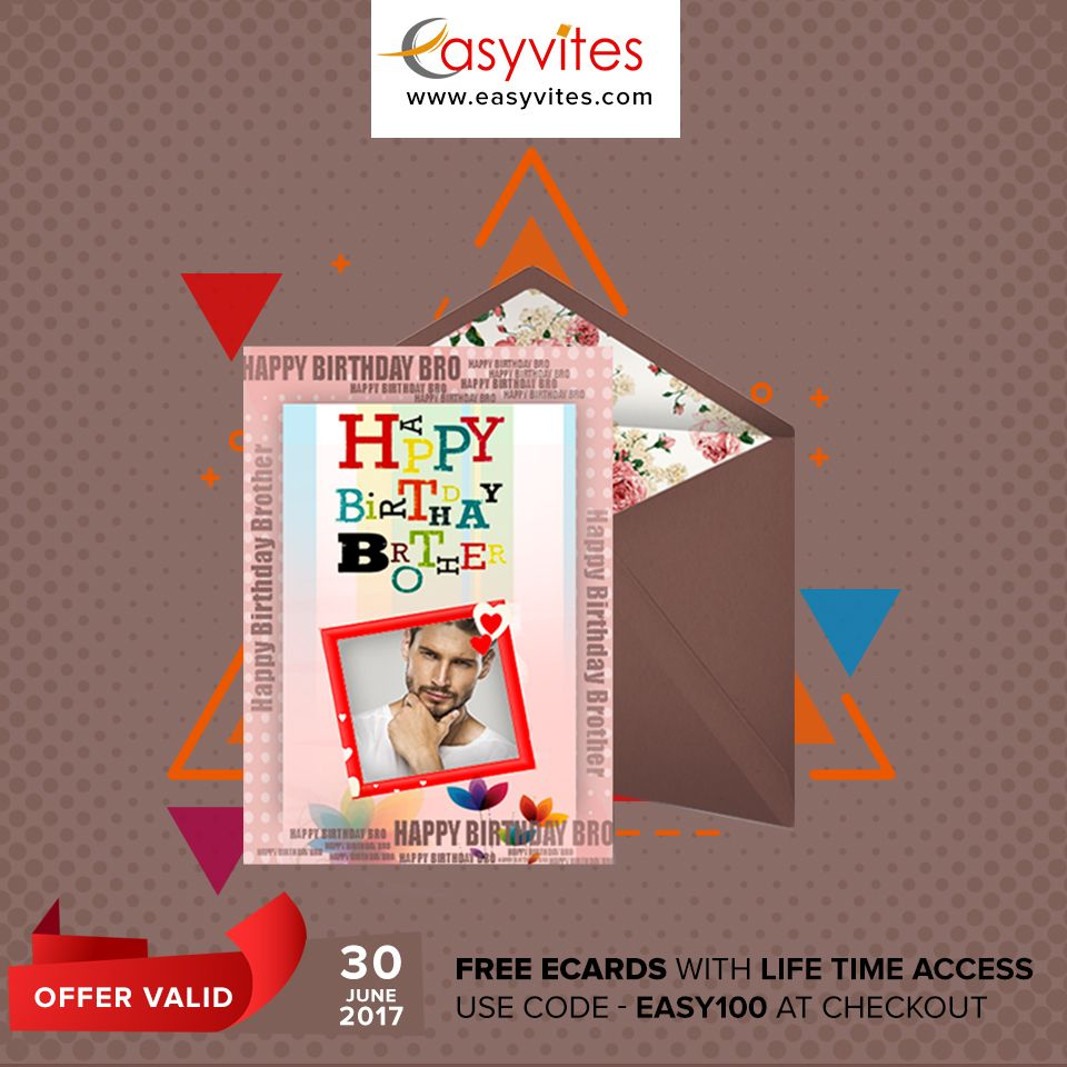 Free birthday ecards with lifetime access whatsapp sharing create and share beautiful free online invitations and digital greeting cards along with gift cards for weddings birthday and all occasions from easyvites kristyandbryce Gallery