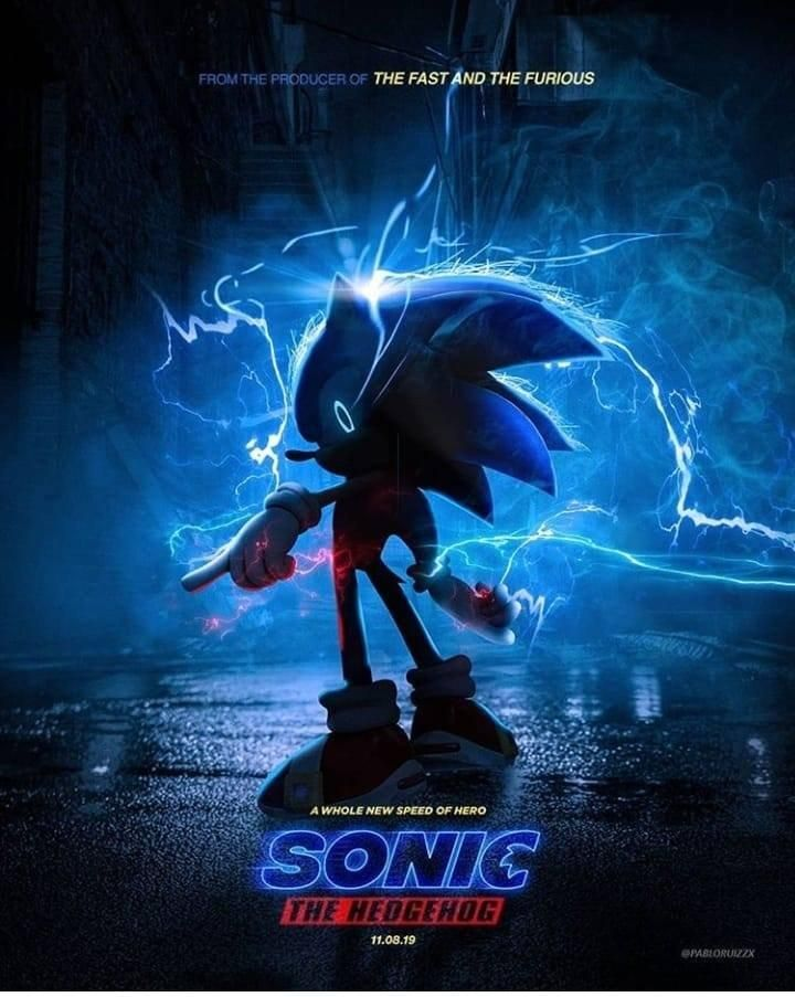 A Much Better Take On The Sonic Teaser Poster Sonic