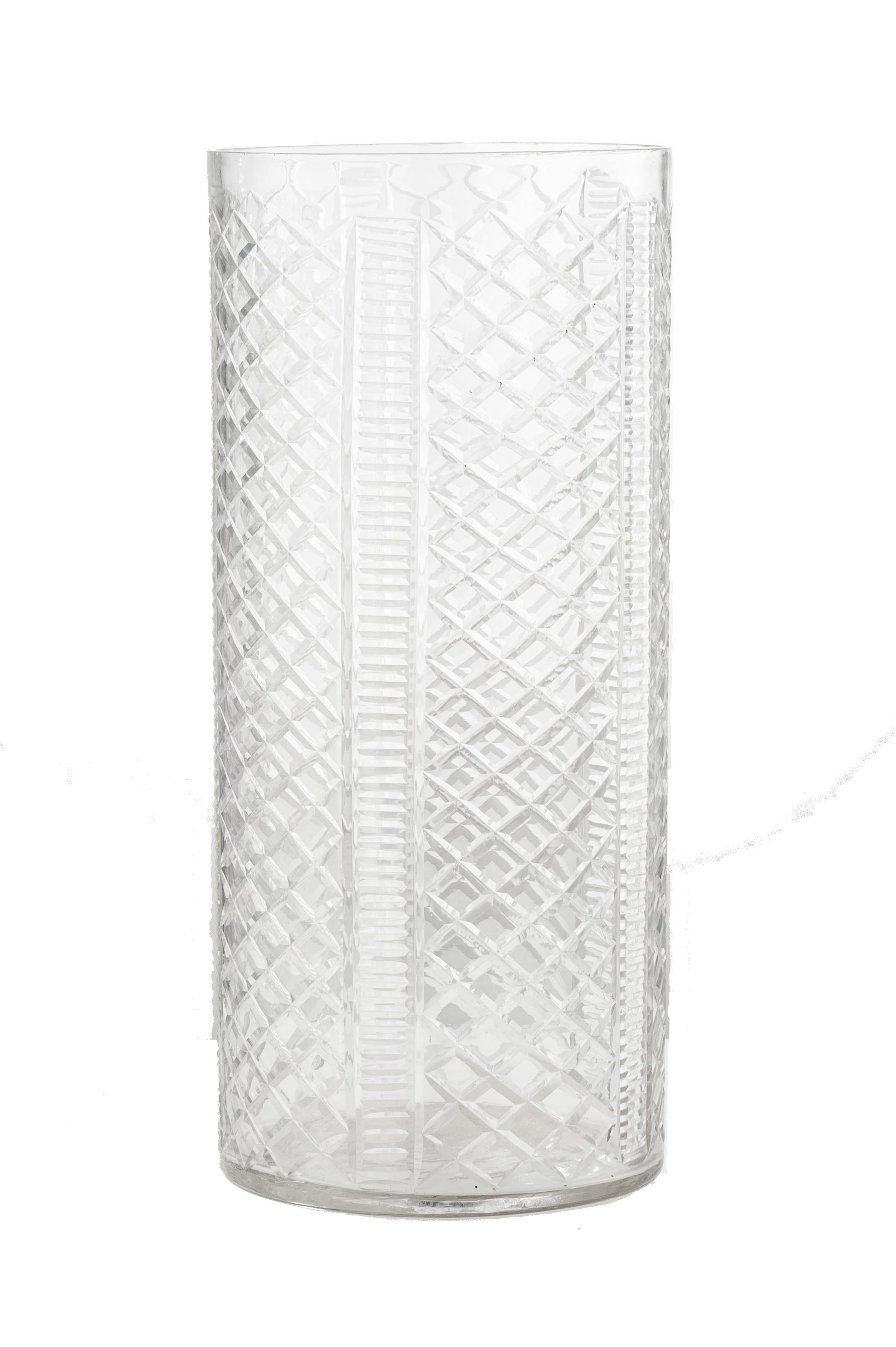 Crystal cylinder vase spectacular glass pinterest crystals crystal cylinder vase reviewsmspy