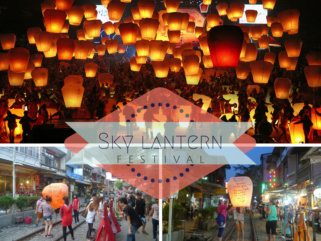 Sky Lantern Is A Traditional Activity In Pingxi Area