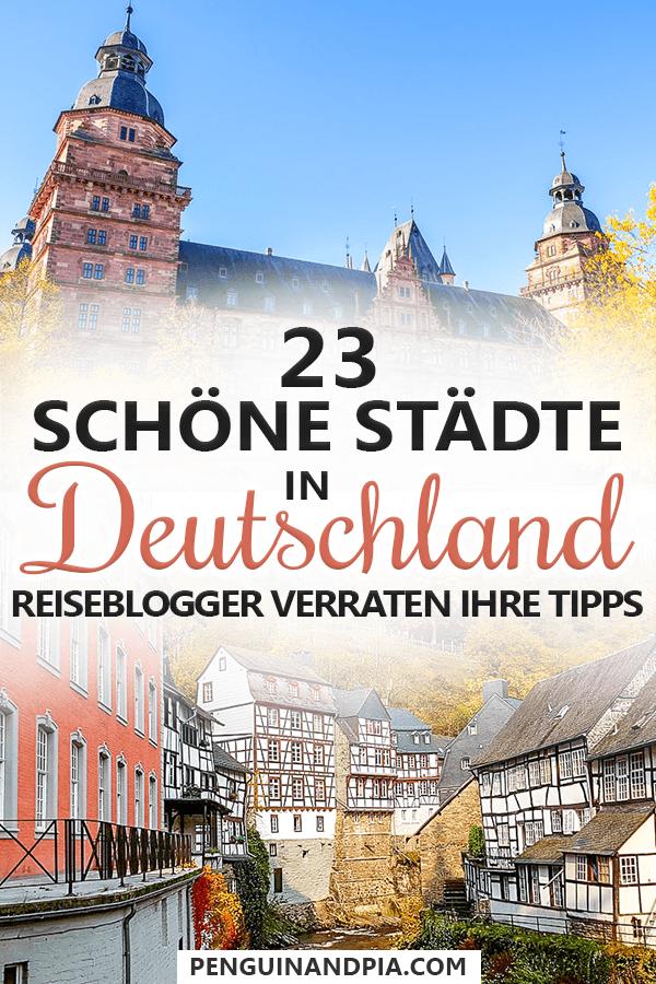 30 hermosas ciudades de Alemania: blogueros de viajes revelan sus consejos