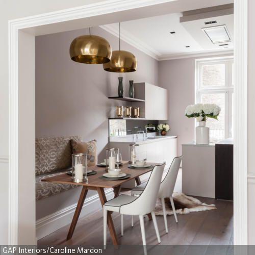 Diese goldfarbenen Deckenleuchten sorgen für den romantischen Look - deckenleuchten für wohnzimmer