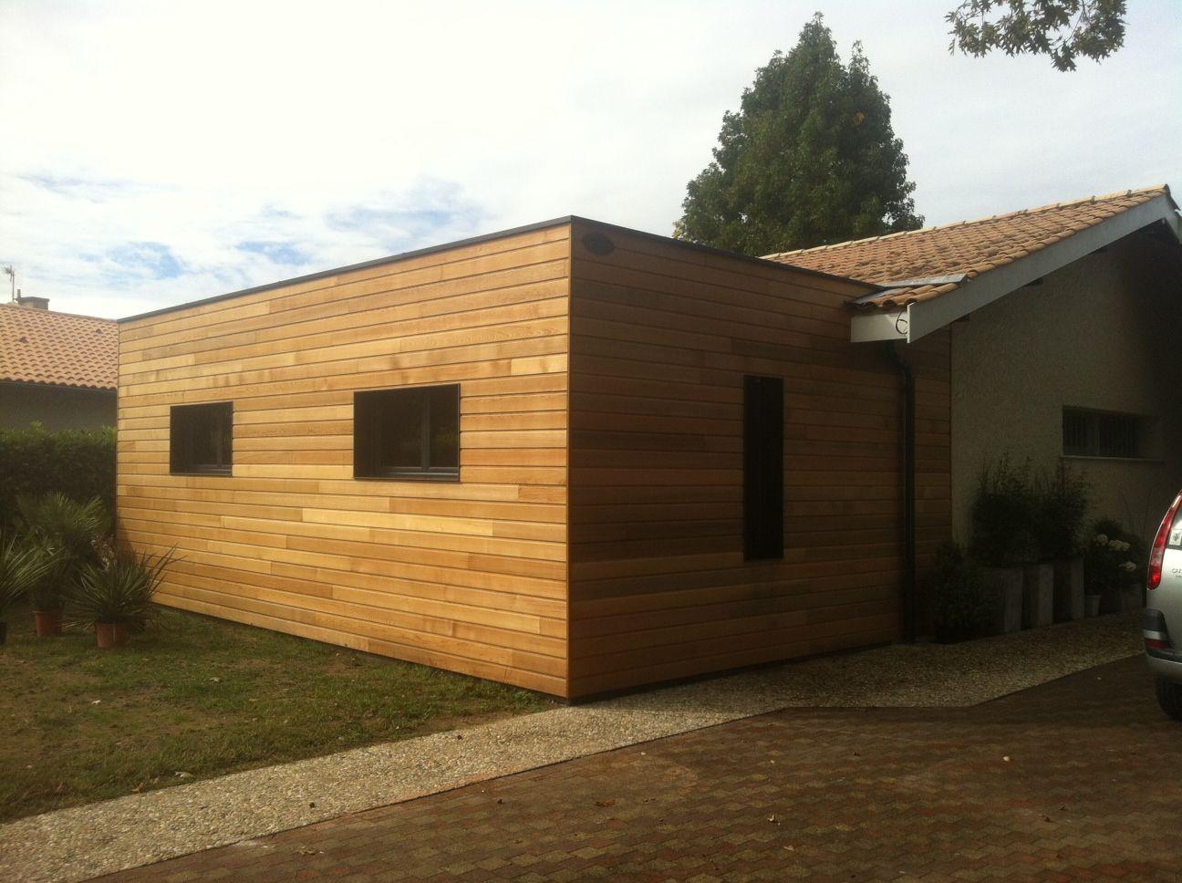Marvelous Extension De Maison Sur La Région Bordelaise Red Cedar Par Cube In Life