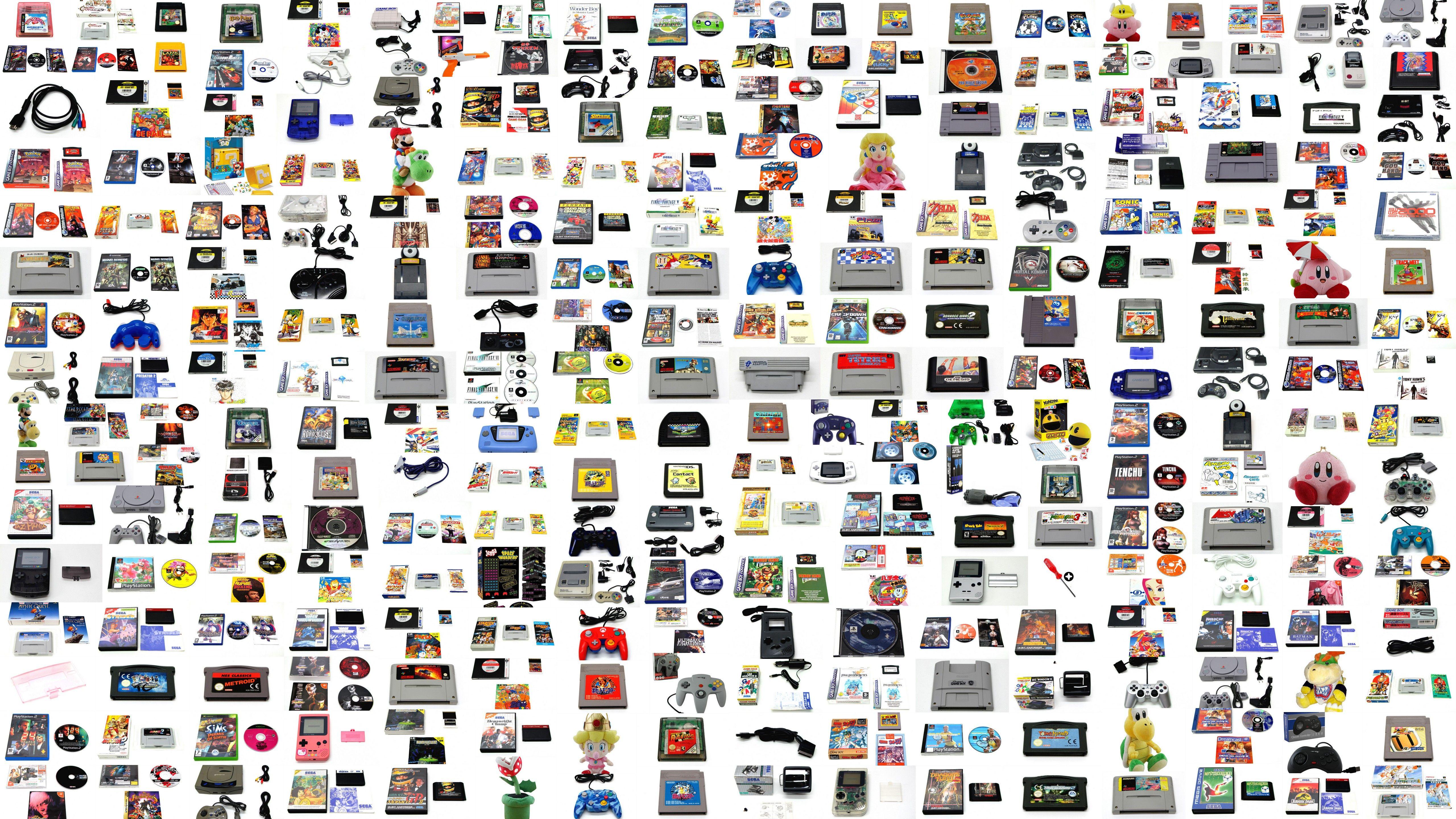 Les amis de NOMBREUSES NOUVEAUTÉS: plus de 300 nouvelles références en stock ! Jeux vidéo, consoles de salon, consoles portables, accessoires, SUR TOUTES PLATEFORMES ! Peluches, jeu de société, enfin de quoi se faire plaisir et faire plaisir à tout le monde :D   N'oubliez pas les frais de port son offert à partir de 49€ d'achat ;)  Il n'y a qu'à suivre le lien suivant !  Bonne journée à tous et bon jeu :D https://vintagevideogame.fr/fr/nouveaux-produits