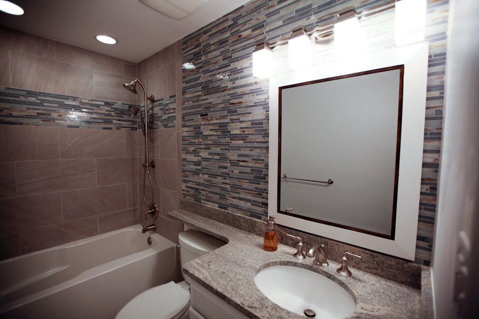 Springfield, Virginia 5x8 Bathroom Remodel. Www.danielsremodeling.build