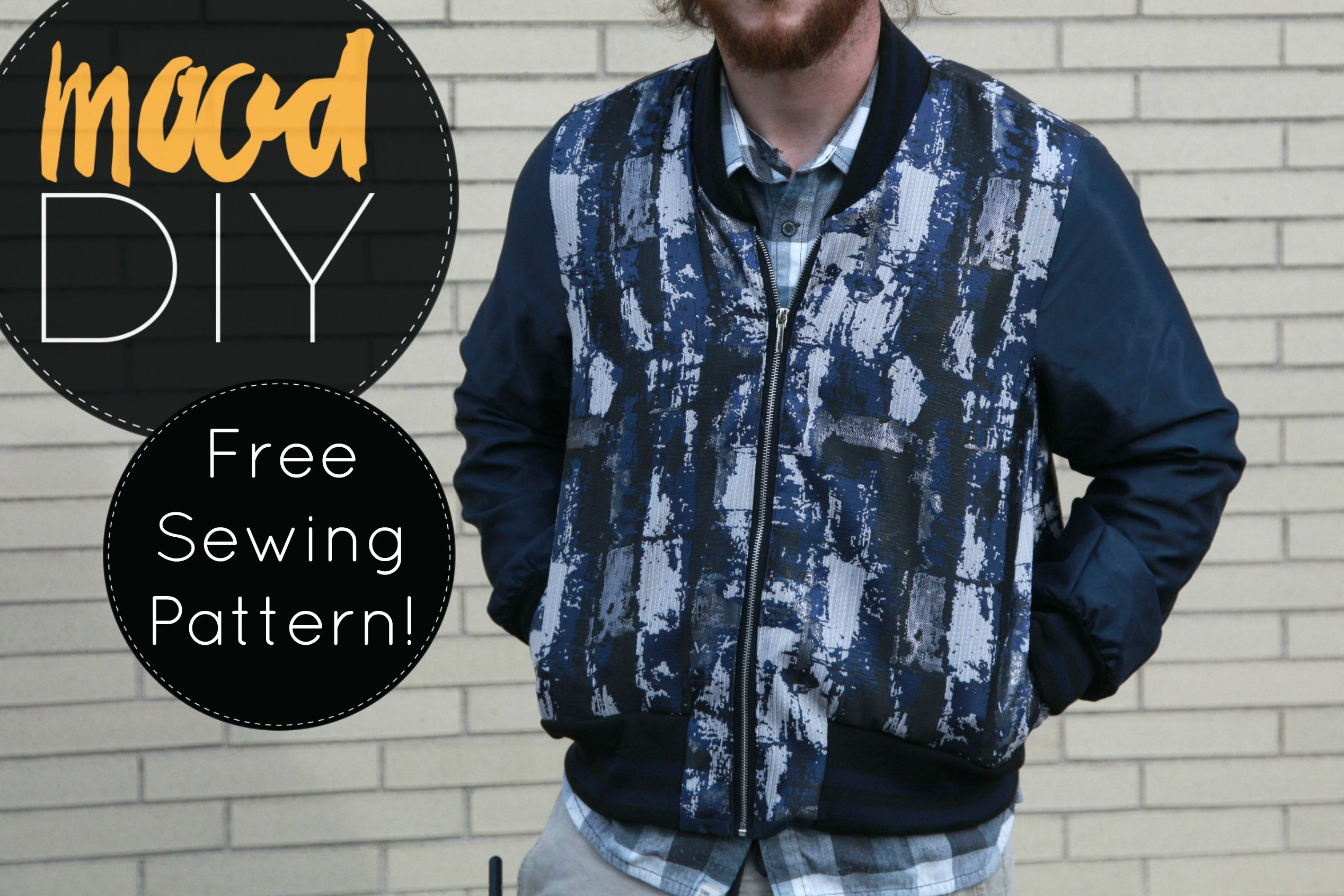 Free bomber jacket sewing pattern outerwear pinterest sewing free bomber jacket sewing pattern jeuxipadfo Images