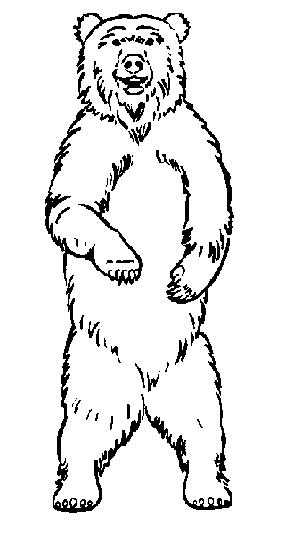 Bear Black And White Grizzly Bear Clipart Black And White Clipartfox 3 Black Bears Art Bear Clipart Bear Drawing