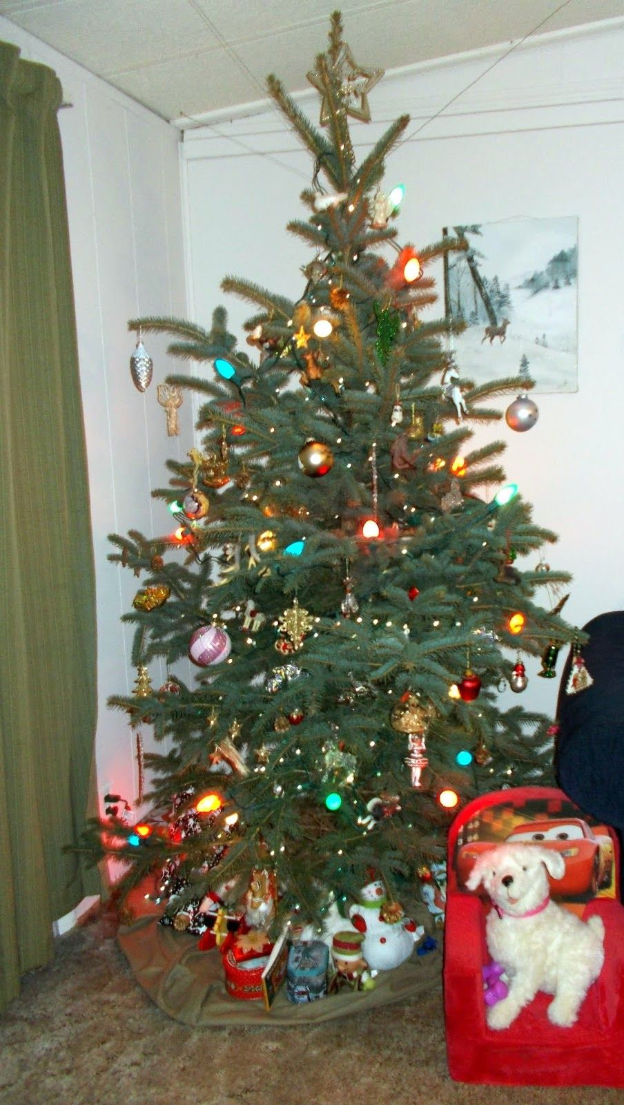 April's Country Life: The Christmas Tree
