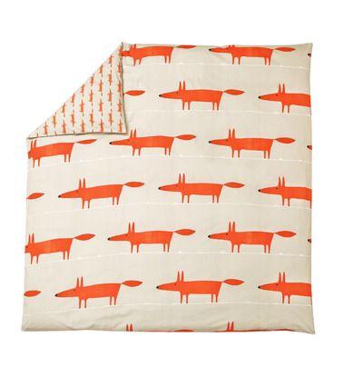 mr fox linge de lit La star par excellence et icône de la marque SCION LIVING, Mr Fox  mr fox linge de lit