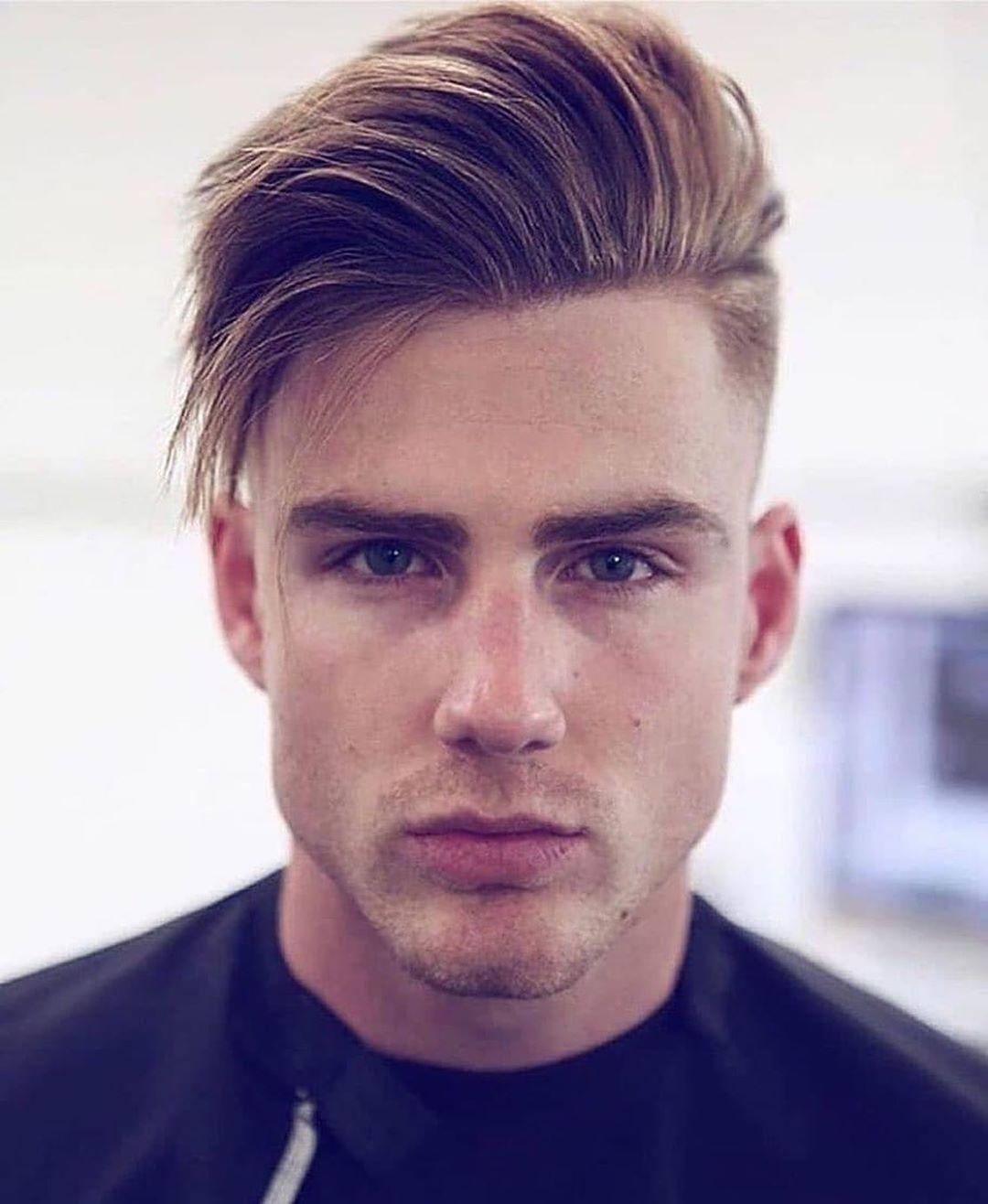35 Inspirierende Mittlere Frisuren Fur Manner Seite Kurz Herrenfrisuren Haare Manner Haare Lang Wachsen Lassen Manner