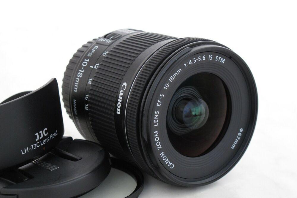 Canon Ef S 10 18mm 45 56 Is Stm Weitwinkel Objektiv Gewahrleistung 1 Jahr 10 Things Canon Ef Ebay