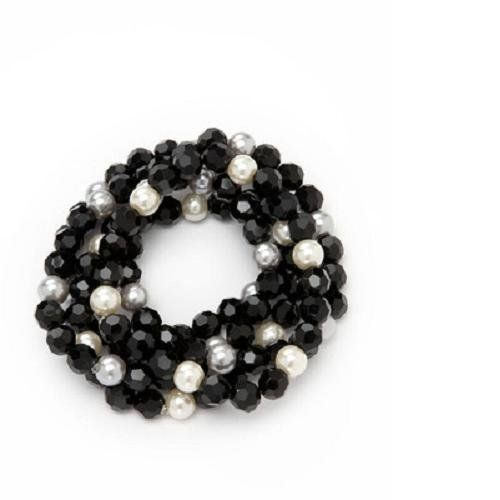 Amrita Singh Pearls of Wisdom Collection, Shannon Bracelet (Natural Pearl/Silver Pearl)