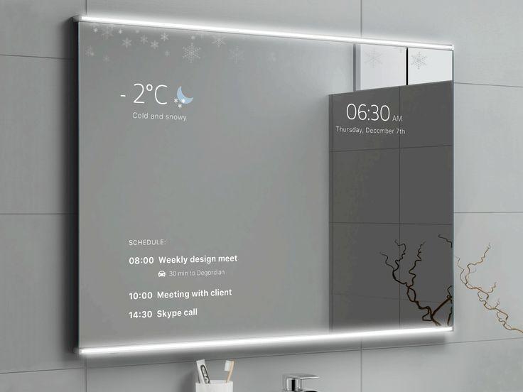 Intelligenter Spiegel Smart Home Steuerung Selber Bauen