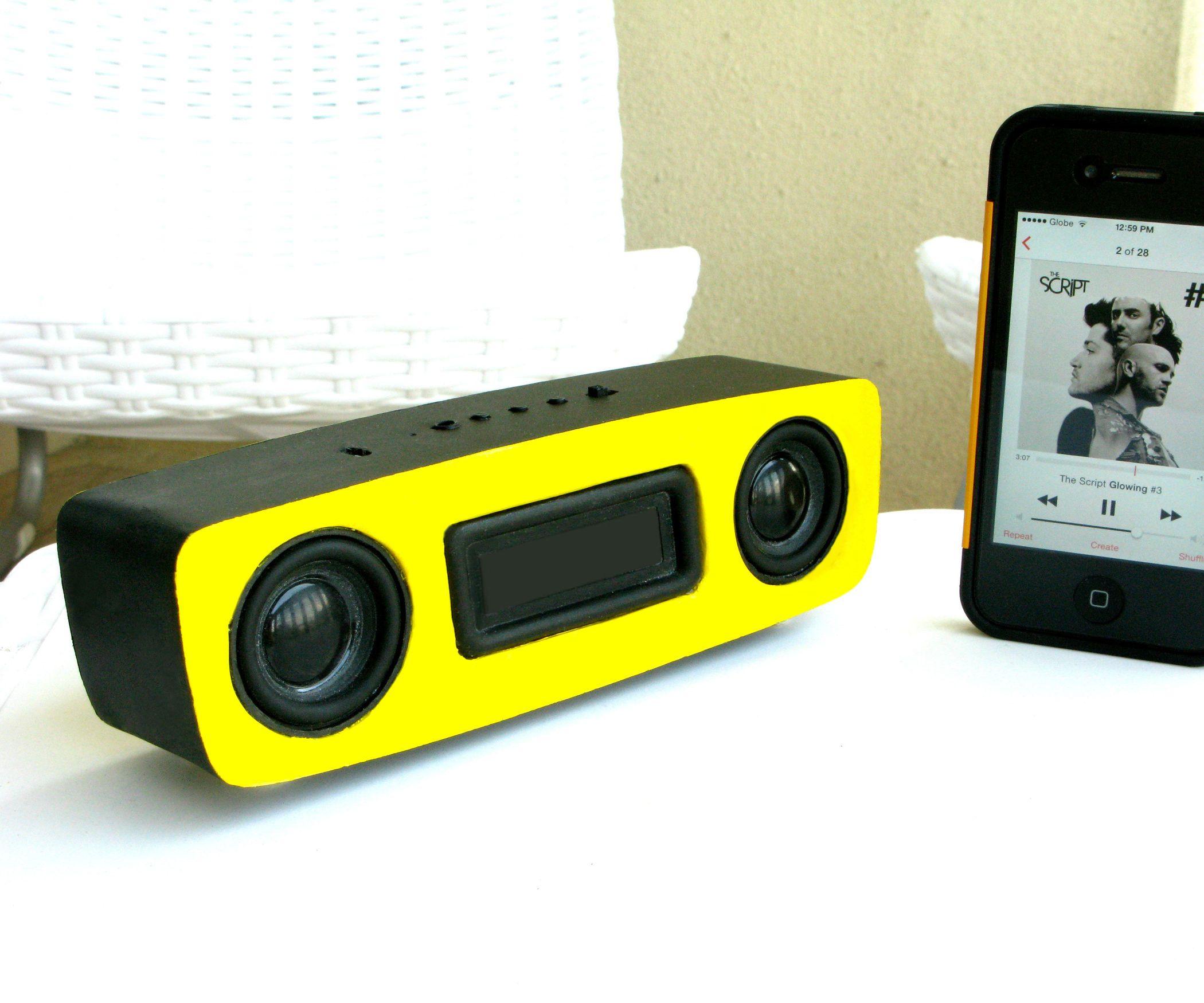 Diy supercharged bluetooth speaker v20 diy bluetooth