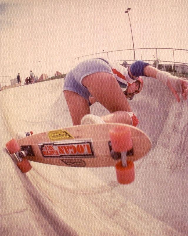 girl vintage skater