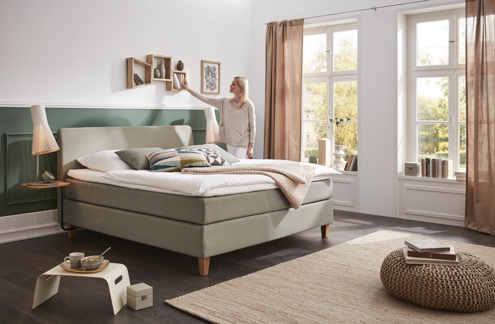 #boxspringbett #schafzimmer #bedroom #bedroominspo