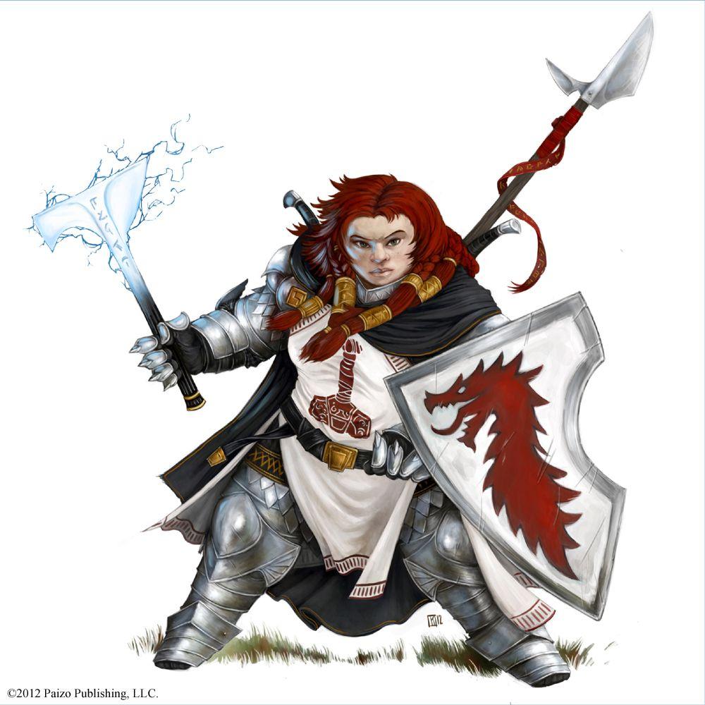 Pathfinder RPG - NPC Codex | Female dwarf, Fantasy dwarf