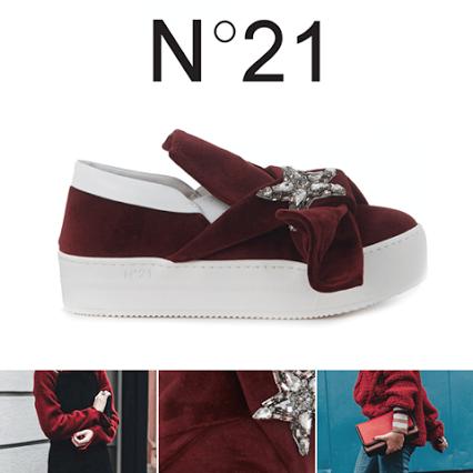 Gotico, aristocratico o bohémien. Le sfilate moda donna Autunno/Inverno 2015/2016 hanno proposto una grande varietà di capi e accessori in velluto - Oggi scopri le nuove slip-on in velluto firmate N°21 official page >> http://bit.ly/HBrands-N21-Velvet #hbrands #N21