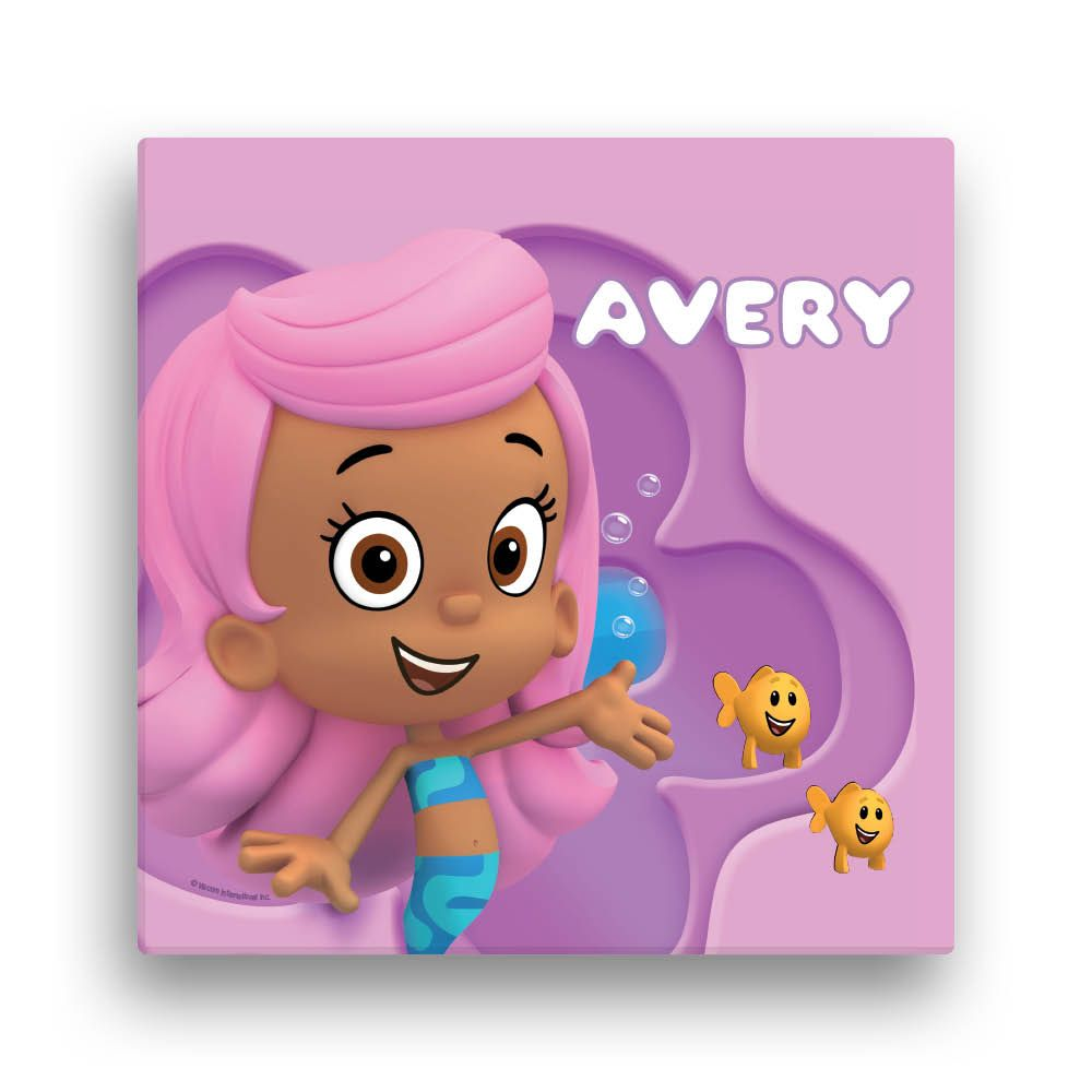 Bubble Guppies Molly 16 x 16 Canvas Wall Art - Wall Decor - Decor ...