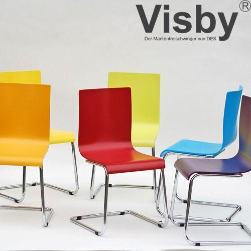 mehrere Farben Freischwinger Besucherstuhl Konferenzstuhl