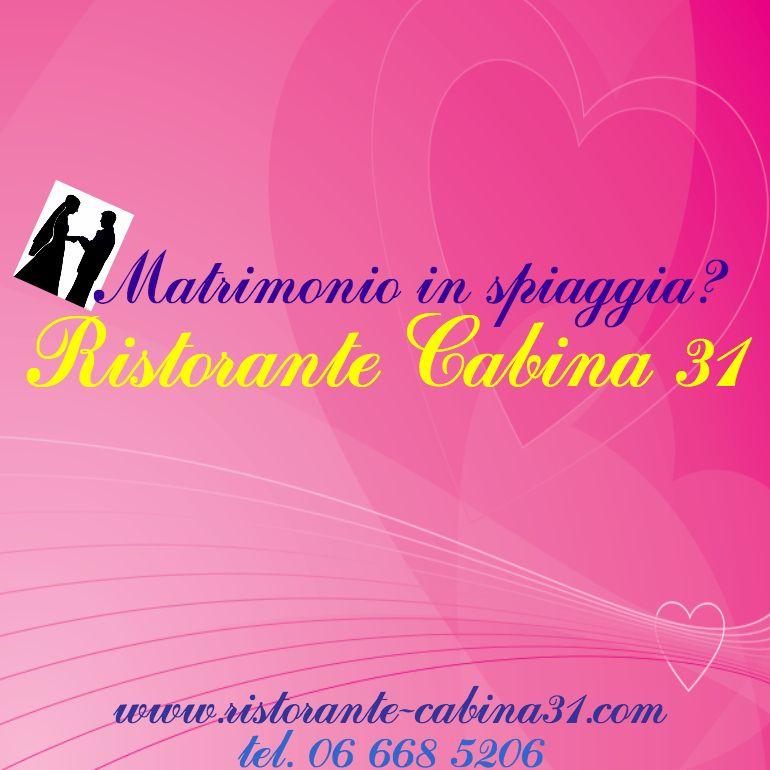 #wedding #cabina31 #fregene #fiumicino #ristorante