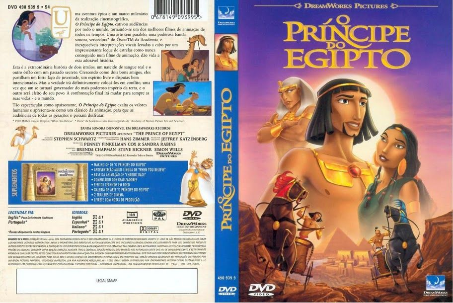 O Principe Do Egito Biografias Clube De Autores Romance