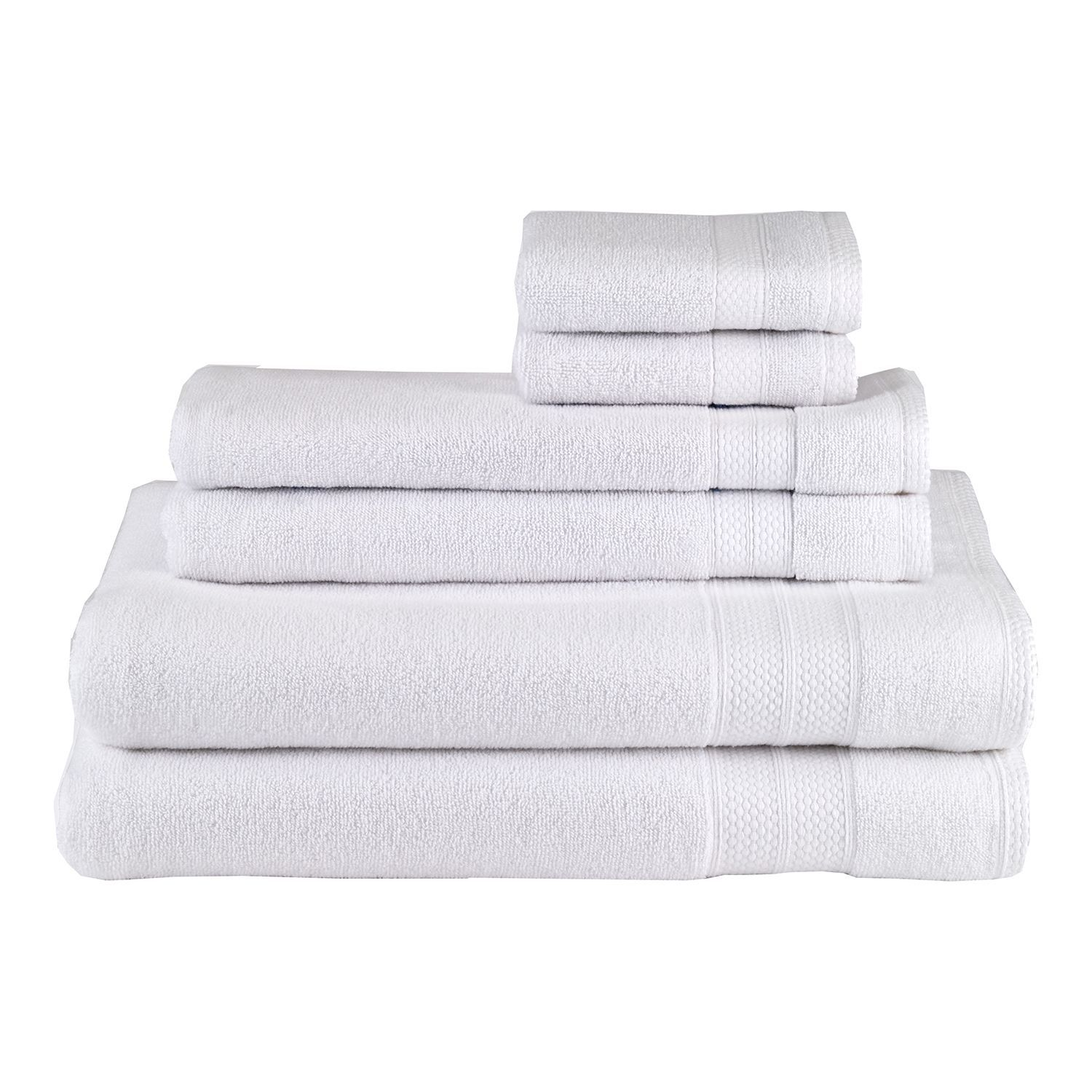 White Solid Turkish Towel Set Of 6 Products White Towels Best