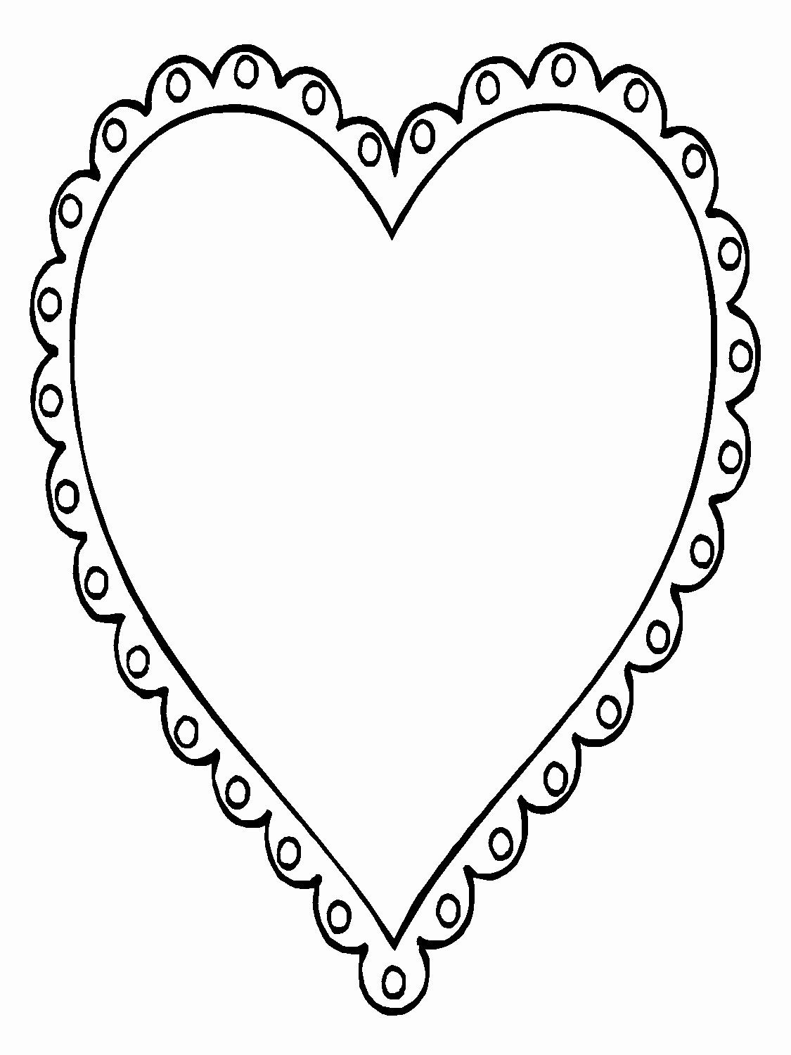 Heart Shape Coloring Page Elegant 56 Heart Shape Coloring Pages