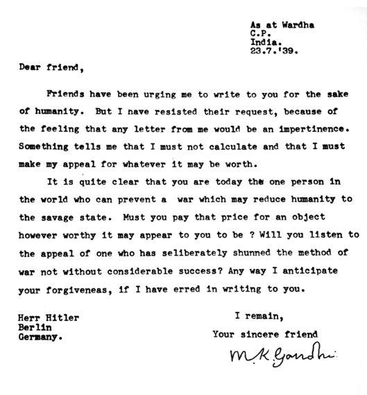 Jack Lo Squartatore, Gandhi, Hitler, la corrispondenza dei grandi della storia raccolta da Shaun Usher ne Larte delle lettere|Giuseppe Fantasia