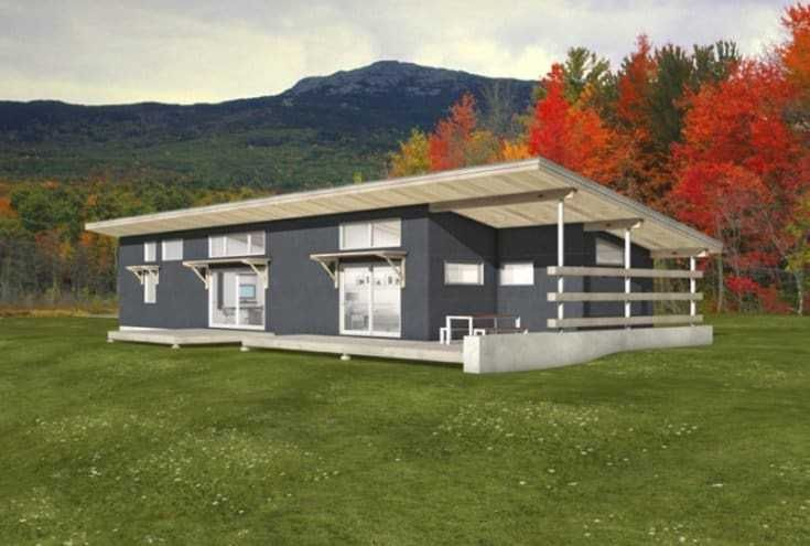 10 Awesomely Simple Modern House Plans Shed Homes Modern Style House Plans Diy Shed Plans