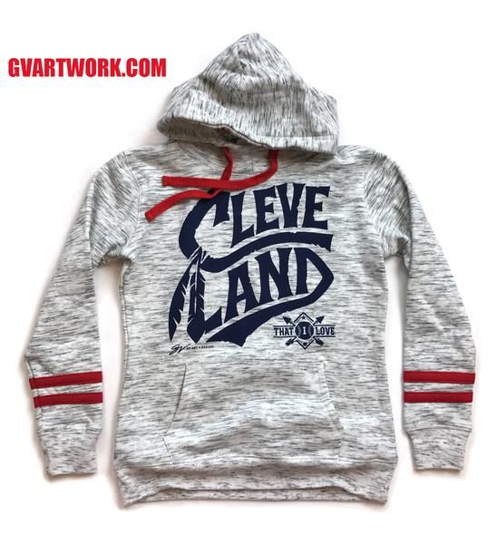 670397e019 The Greatest Collection of One of a Kind T-shirts. Cleveland Baseball,  Hooded Sweatshirts, Hoodies, Red Stripes, Lady In Red, Fashion