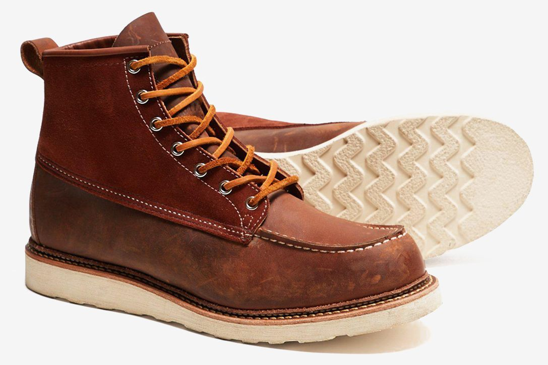 d6e4cb3f2fe Red Wing X Todd Snyder Moc Toe Boots | HiConsumption | Boots, My ...