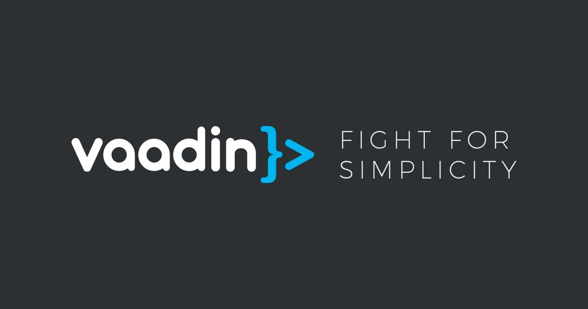 Spring Vaadin Framework (mit Bildern) The help
