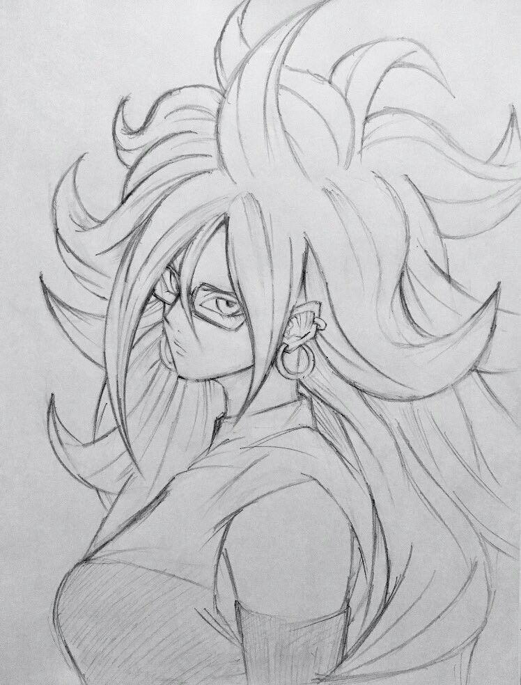Dessin L Humain Artificiel N 21 Dibujo De Goku Dragones Dibujos De Dragon