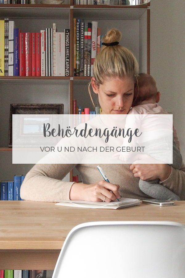 Behördengänge vor und nach der Geburt // Checkliste | Mamafreundin – Blog