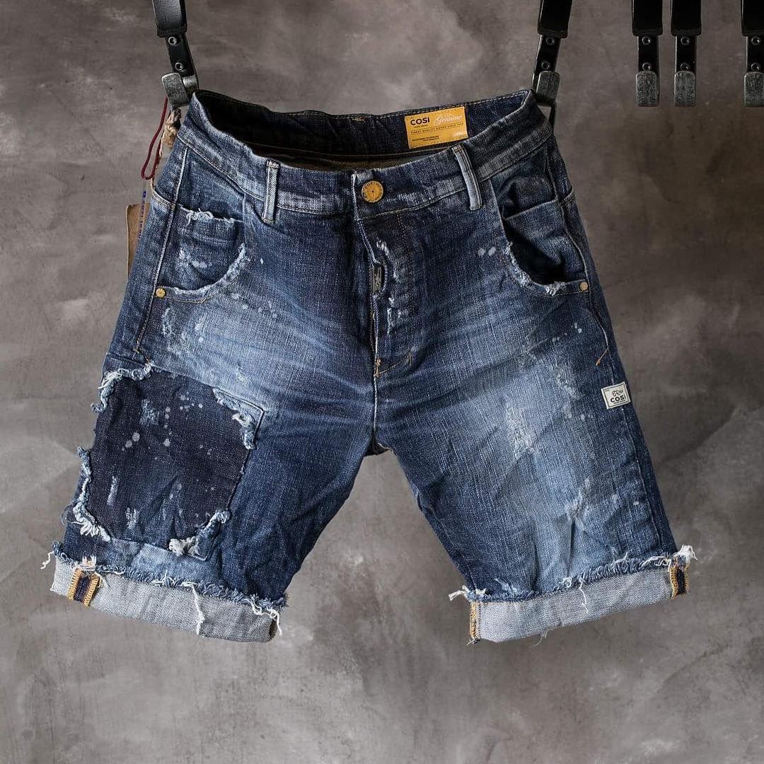 destruído denim jeans mens