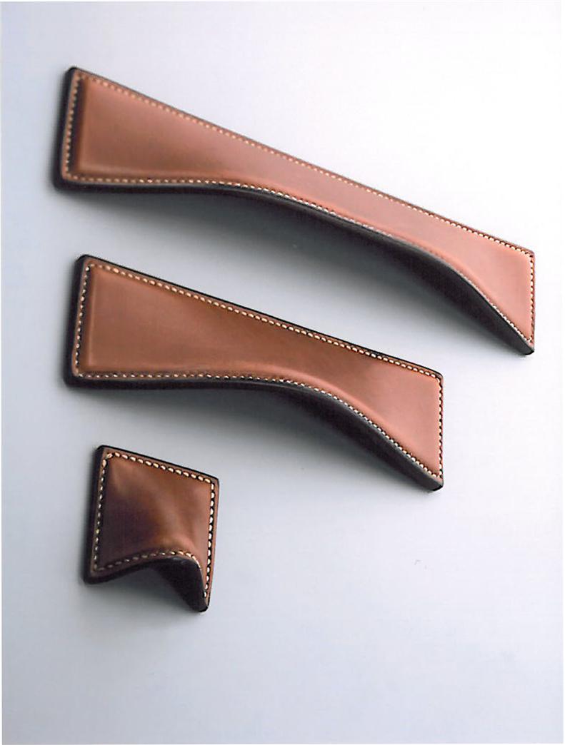 Inspiration leather handles cuero pinterest - Tiradores decorativos ...